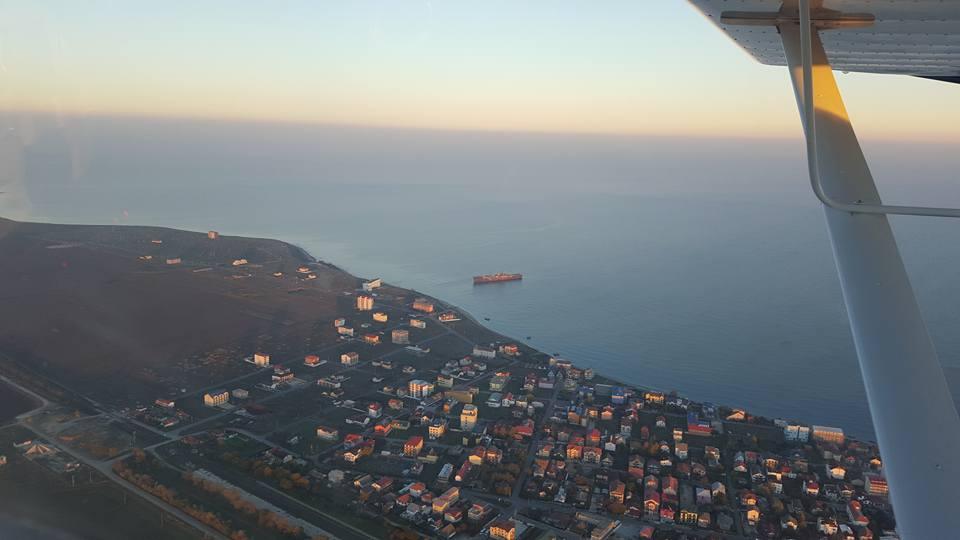 Zbor cu motodeltaplanul la Marea Neagra