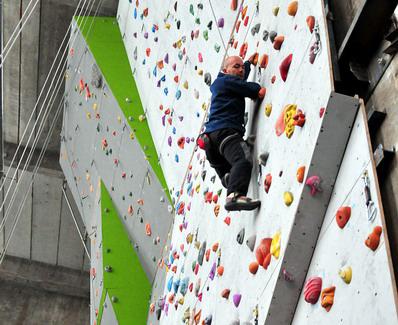 Climbing indoor in Bucuresti