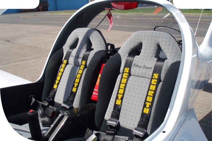 Lectie de zbor cu avionul in Bistrita