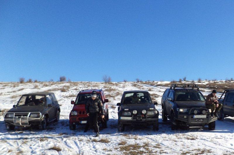 Lectie de off-road in Mangalia pentru 2
