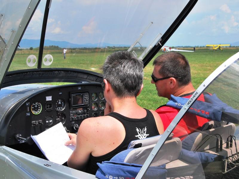 Lectie de zbor cu avionul in Constanta