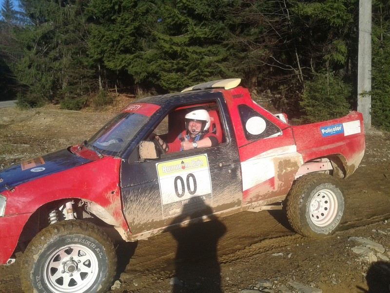 Experienta cu o masina de raliu in Baia Mare