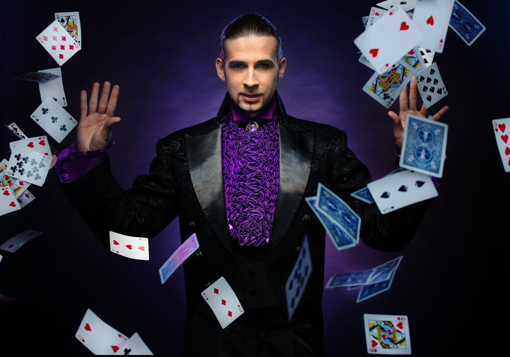 Show privat de magie