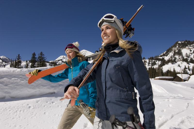 Lectie de initiere in ski in Arieseni