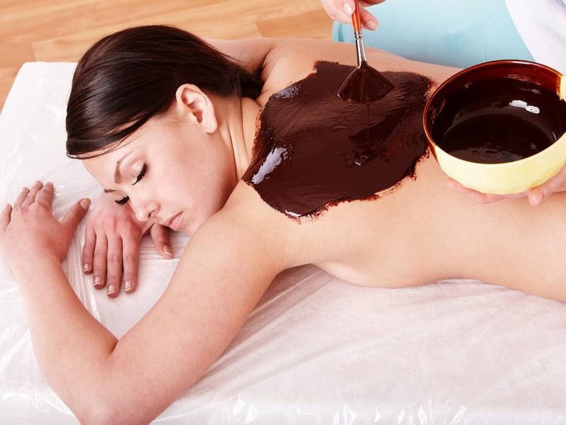 Peeling cu ciocolata si masaj pentru ea in Bucuresti