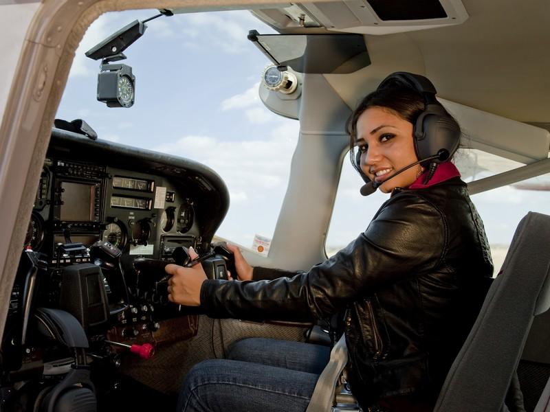Lectie de zbor cu avionul in Turda