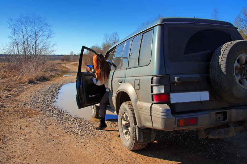 Lectie de off-road in Constanta pentru 2