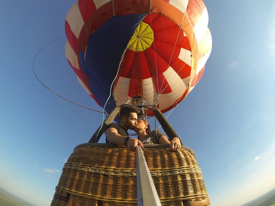 Zbor cu balonul- Cerere in casatorie