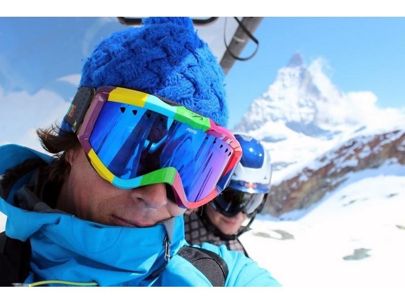 Lectie de initiere in ski in Sinaia