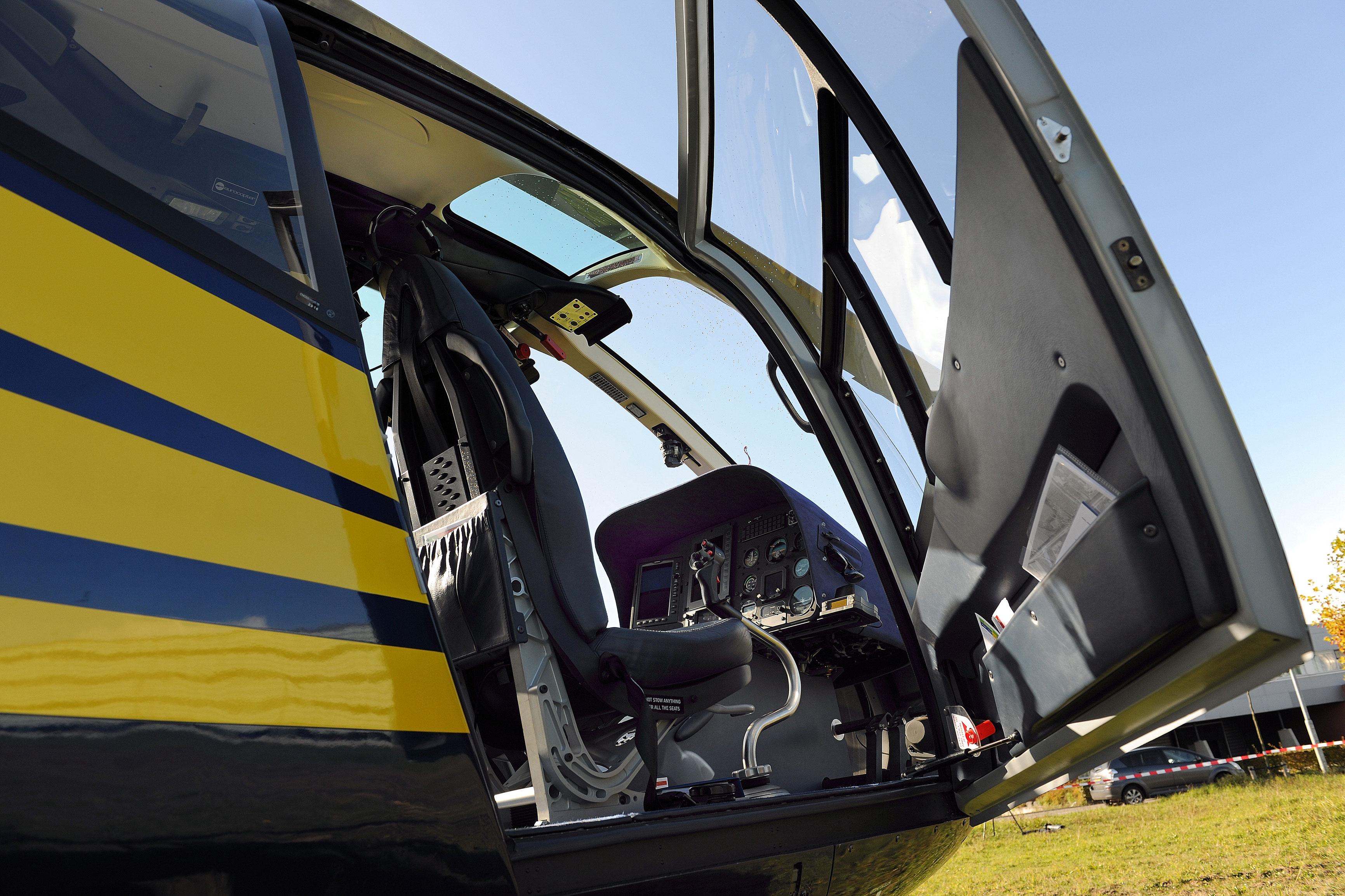 Lectie de zbor cu elicopterul in Constanta