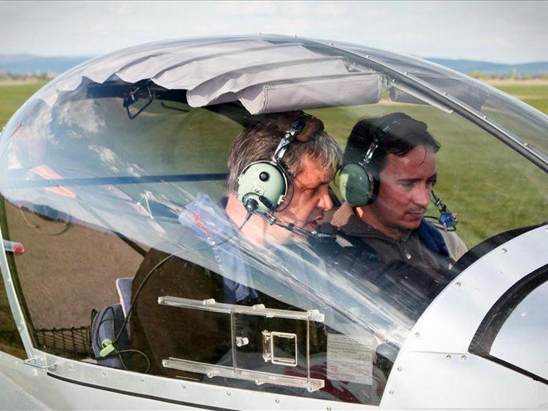 Lectie de zbor cu avionul in Bucuresti