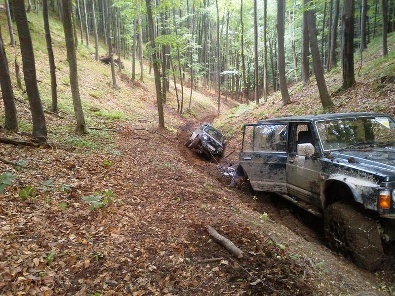 Lectie de off-road  in Brasov pentru 2