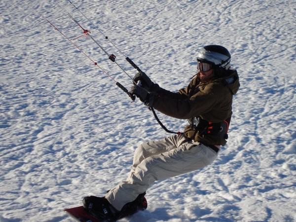 Initiere in snowkiting in Cluj-Napoca