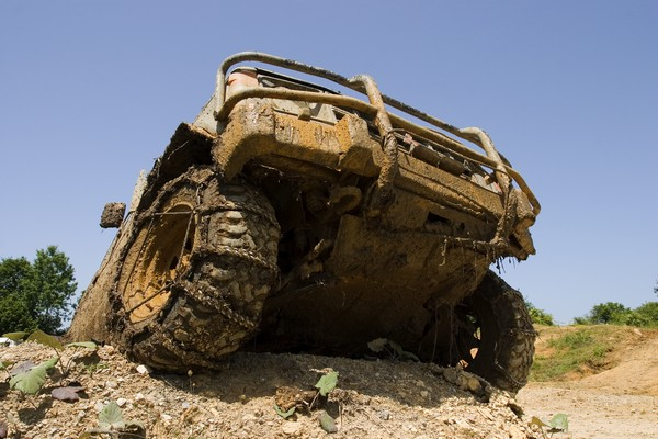 Lectie de off-road in Bucuresti
