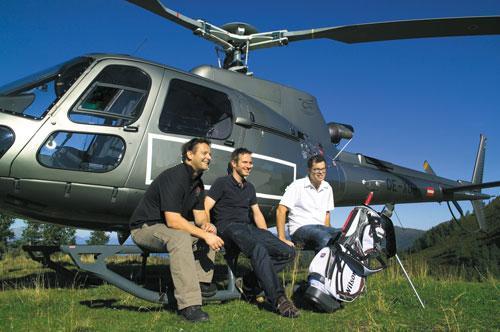 Heli golf in Bucuresti