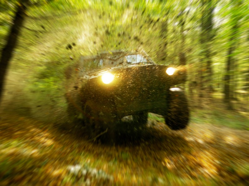 Lectie de off-road in Cluj