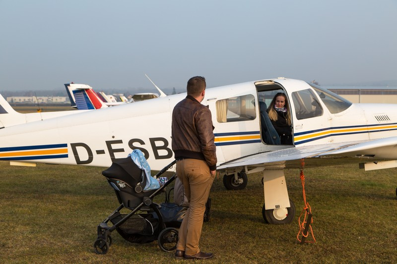 Lectie de zbor cu avionul in Miercurea Ciuc