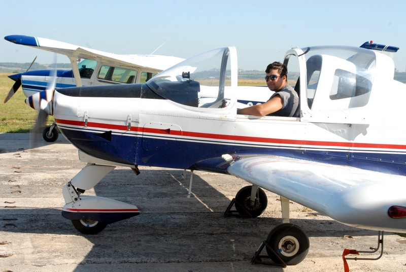 Survol de placere cu avionul in Galati