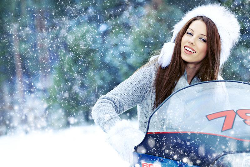 Snowmobilul - Experienta in Stana de Vale