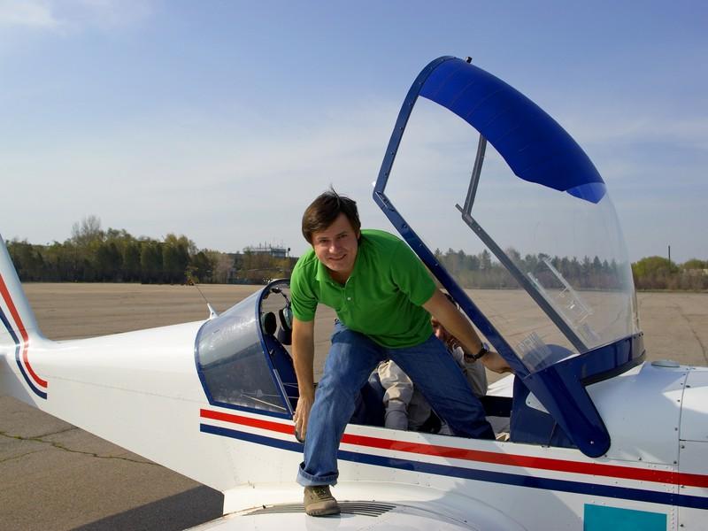 Survol de placere cu avionul in Bucuresti