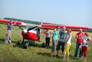 Survol de placere cu avionul in Targoviste