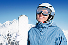 Lectie de initiere in ski in Poiana Brasov