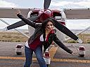 Lectie de zbor cu avionul in Targoviste
