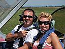 Lectie de zbor cu avionul in Sovata