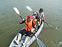 Ture cu canoe pentru familii pe Neajlov