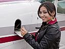 Lectie de zbor cu avionul si invitati in Targu Mures