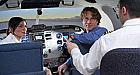 Experienta de zbor pe simulatorul unui avion