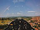 Zbor termic de initiere cu planorul in Bucuresti