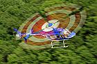 Survol cu elicopterul si invitati deasupra castelelor Bran si Peles -Bucuresti