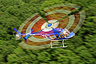 Survol cu elicopterul si invitati deasupra castelelor Bran si Peles -BV