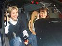 Lectie de zbor cu elicopterul si invitati la Hunedoara
