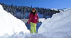 Lectie de initiere in snowboard in Sinaia