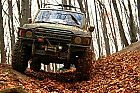 Lectie de off-road in Sibiu