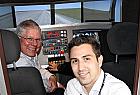 Experienta de zbor pe simulatorul unui avion de linie