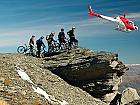 Heli biking Brasov
