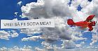 Sky banner! Mesaj pe cer in Timisoara