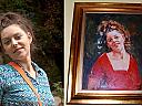 Portret in ulei