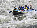 White water rafting pe raul Jiu
